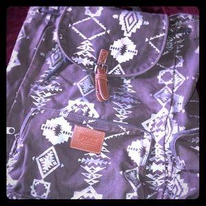 PINK branded backpack